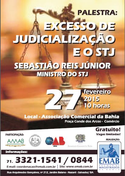 palestra judicializacao
