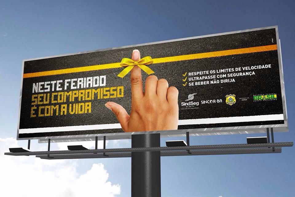SindSeg BA/SE/TO, Sincor-BA e PRF-BA lançam campanha de conscientização nas estradas