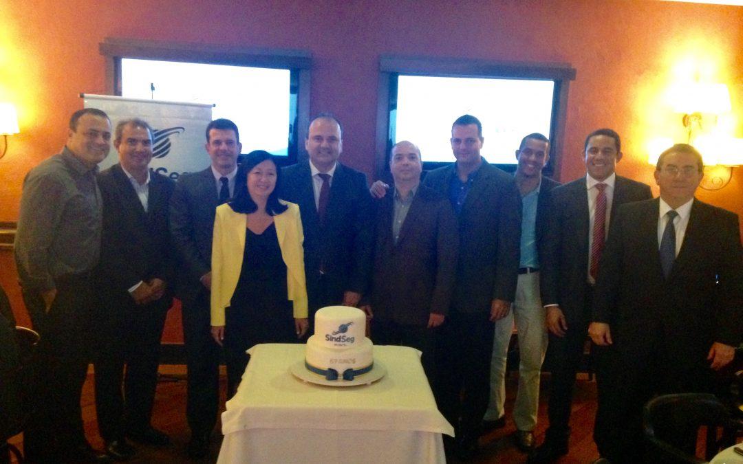 SindSeg BA/SE/TO completa 67 anos com almoço para entidades e parceiros