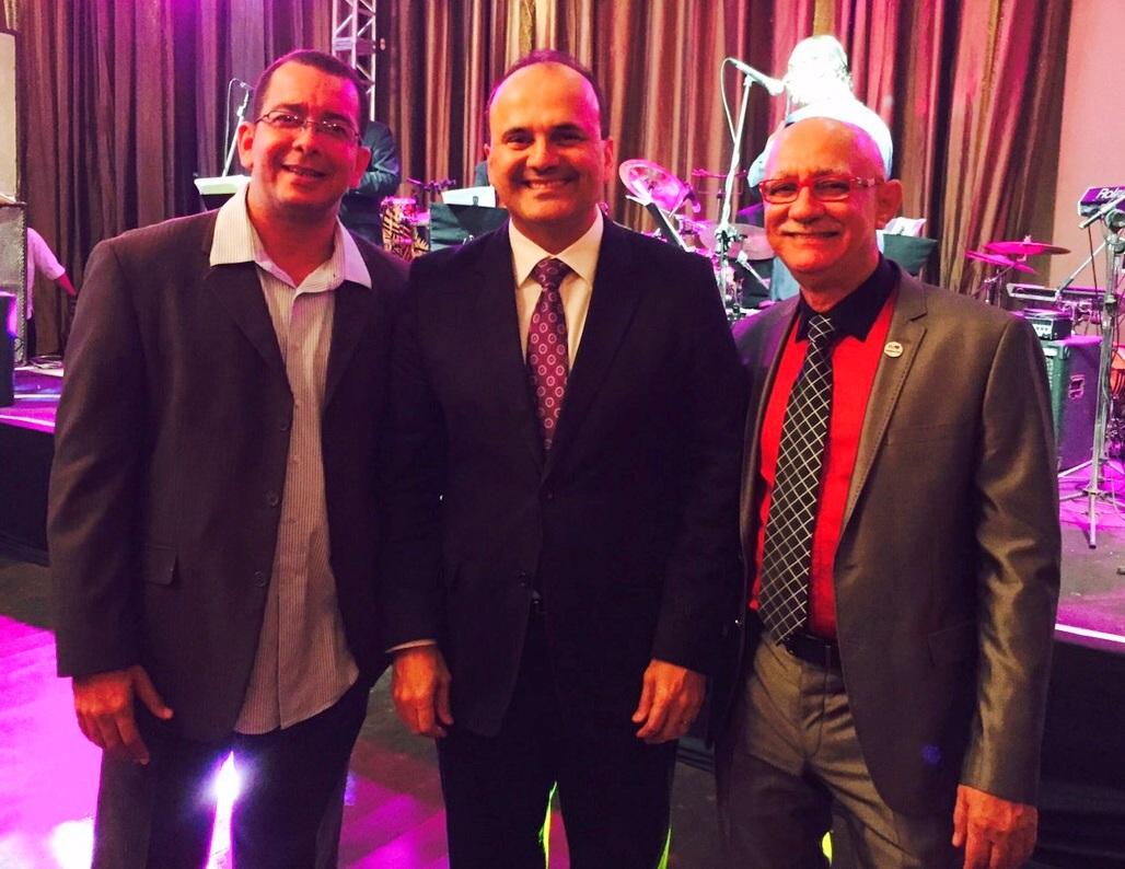 Ricardo Vasconcelos, João Giuseppe e Antônio Castro