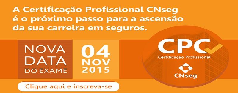 Inscrições abertas para a Certificação Profissional CNseg