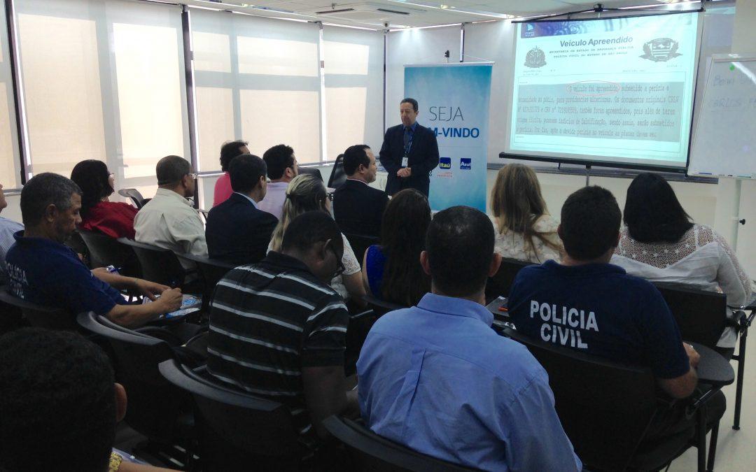SindSeg BA/SE/TO promove treinamento de identificação veicular para Polícia Civil em Salvador
